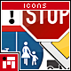 Traffic Sign Icons - Vol.1 - GraphicRiver Item for Sale