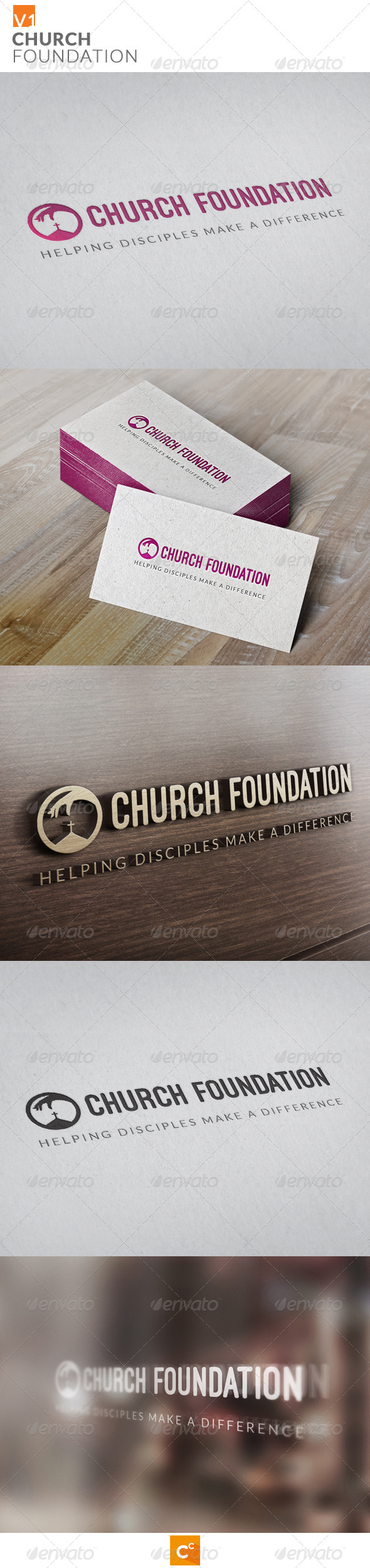 GraphicRiver Church Foundation 7949926