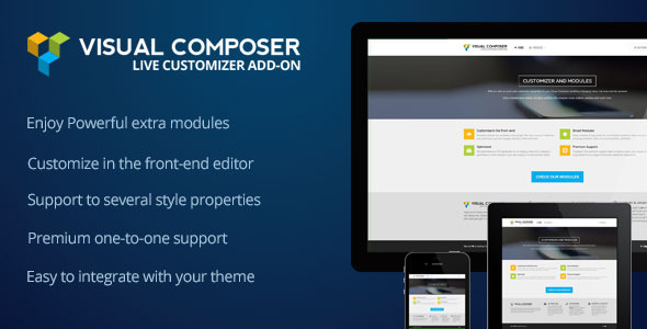 CodeCanyon Visual Composer Customizer Add-on 7950770