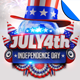 July 4th Independence Day Flyer Template - GraphicRiver Item for Sale