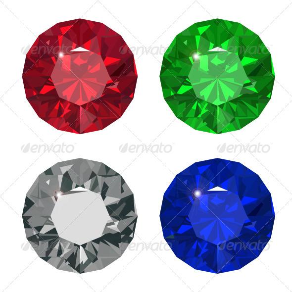 GraphicRiver Jewel set 7941852