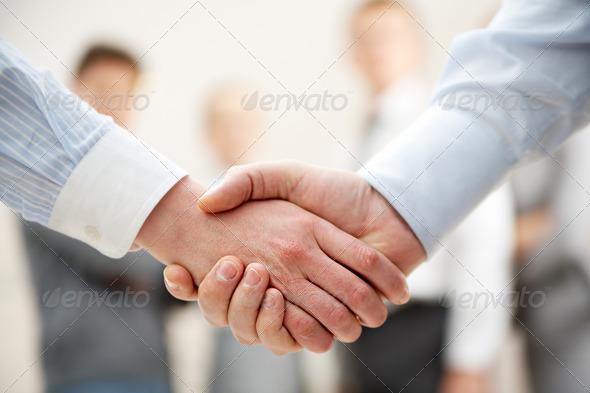 Symbol of partnership - Stock Photo - Images