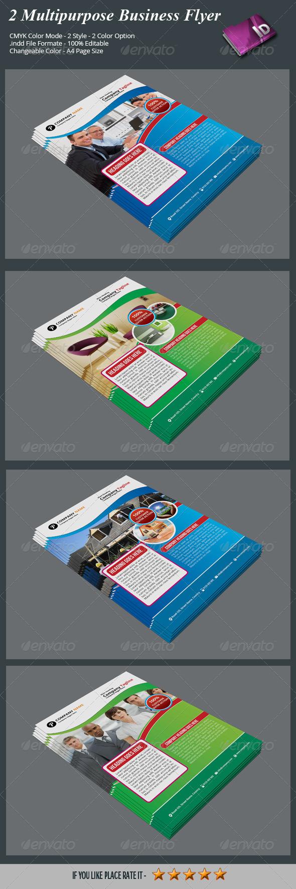 2 Multipurpose Business Flyer