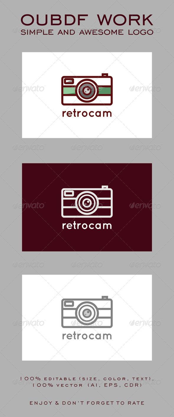 GraphicRiver Retrocam Logo 7951346