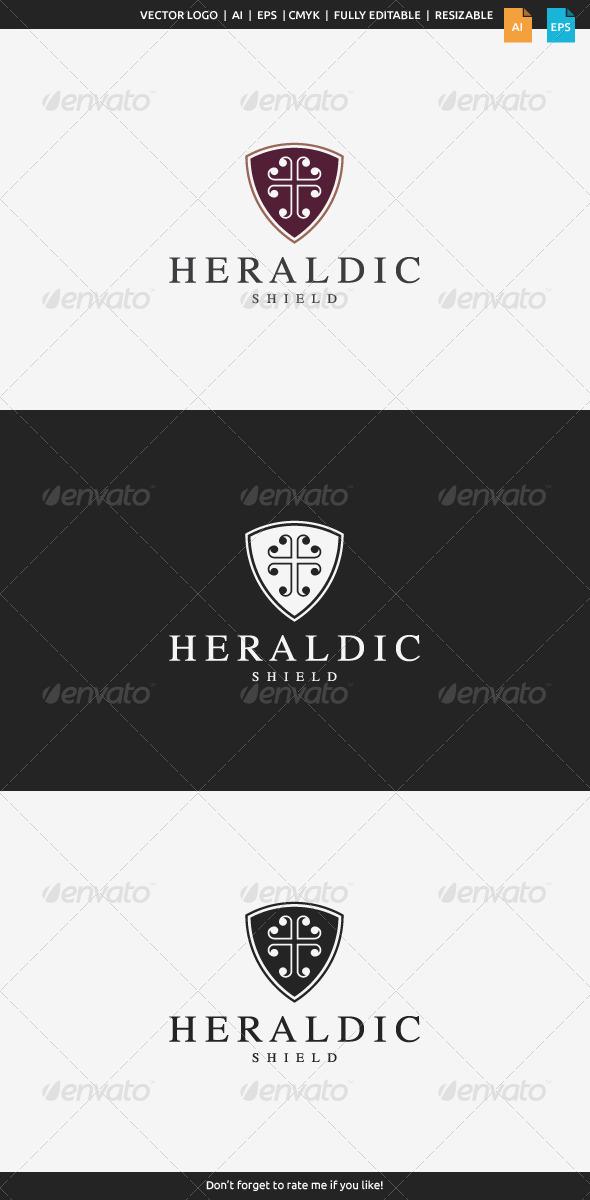 GraphicRiver Heraldic Shield Logo 7951404