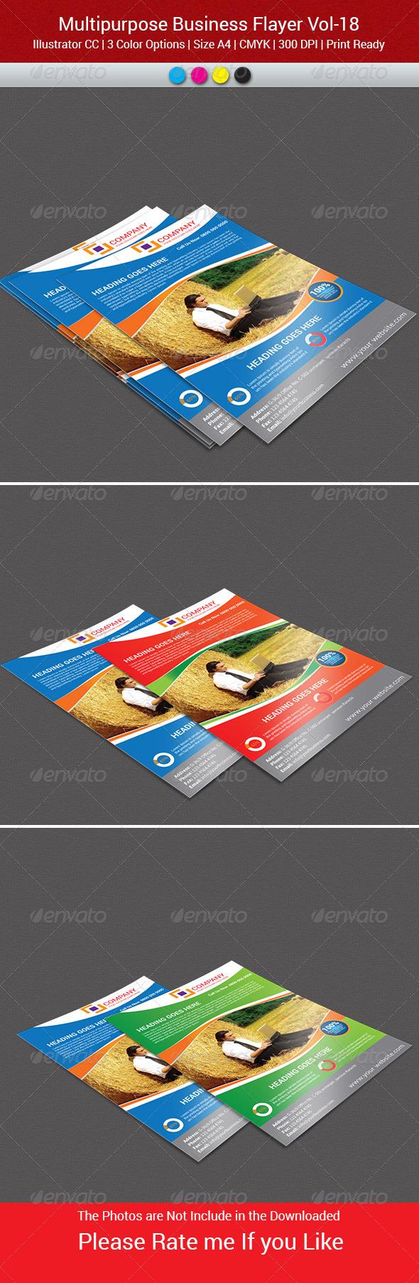 GraphicRiver MultiPurpose Business Flyer-Vol-18 7951642