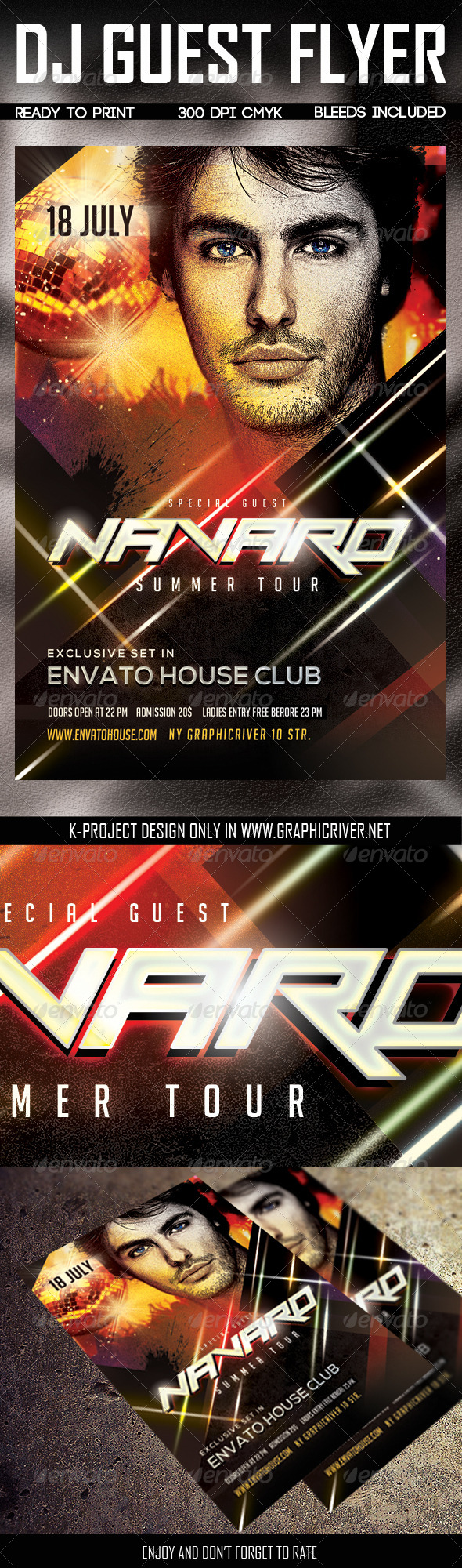 GraphicRiver DJ Guest Flyer 7951726