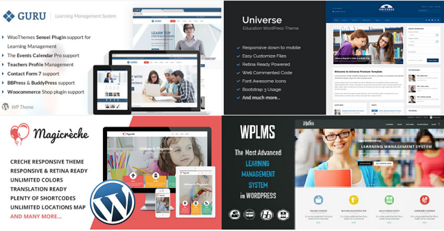 Best Educational WordPress Templates