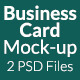 Business Card Mock-up SS-5 - GraphicRiver Item for Sale