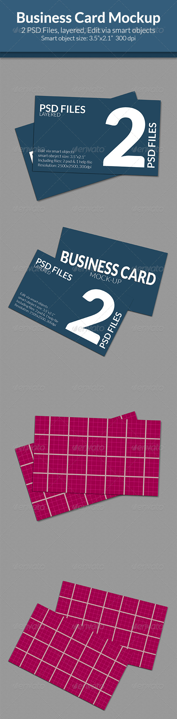 GraphicRiver Business Card Mock-Up SS-6 7952042