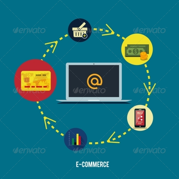 GraphicRiver E-commerce Concept 7952377