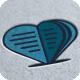 Heart Book Logo - GraphicRiver Item for Sale