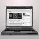 3D Transparent Laptop Open - VideoHive Item for Sale