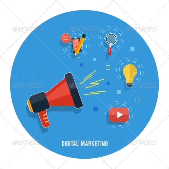 GraphicRiver Digital Marketing Concept 7952941