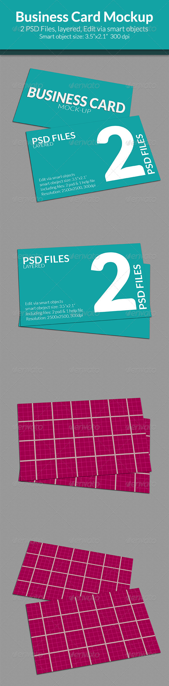 GraphicRiver Business Card Mock-up SS-7 7953394