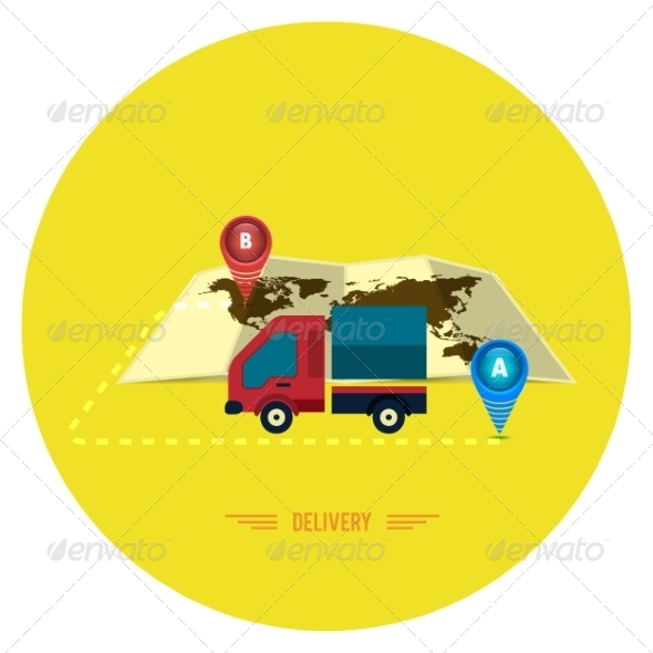 GraphicRiver Delivery Service 7953716