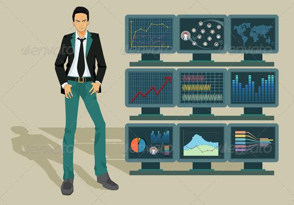 GraphicRiver Business Graph 7953726