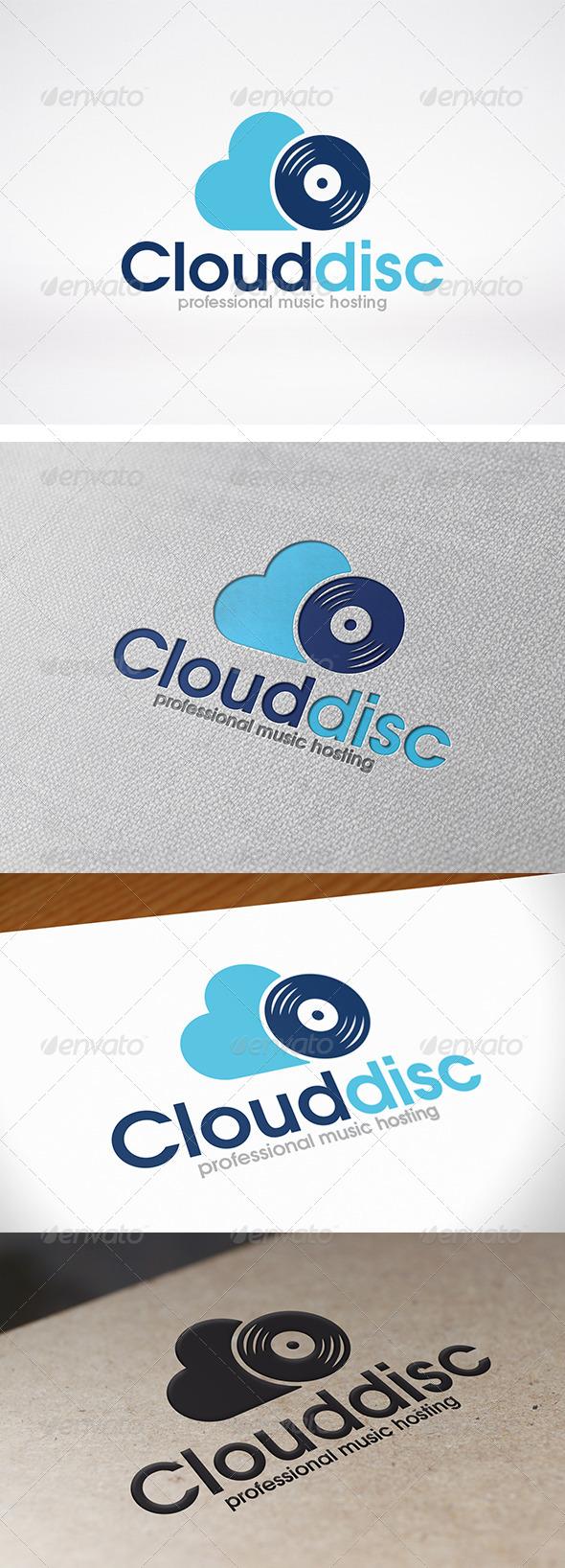 GraphicRiver Cloud Music Logo Template 7954175