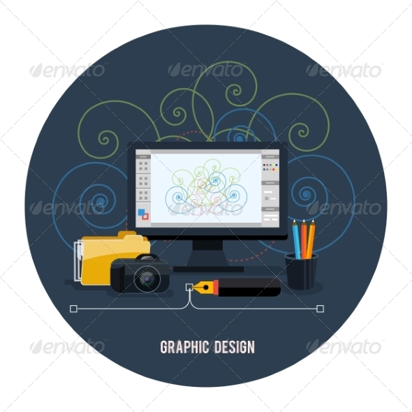 GraphicRiver Web Design Concept 7954181