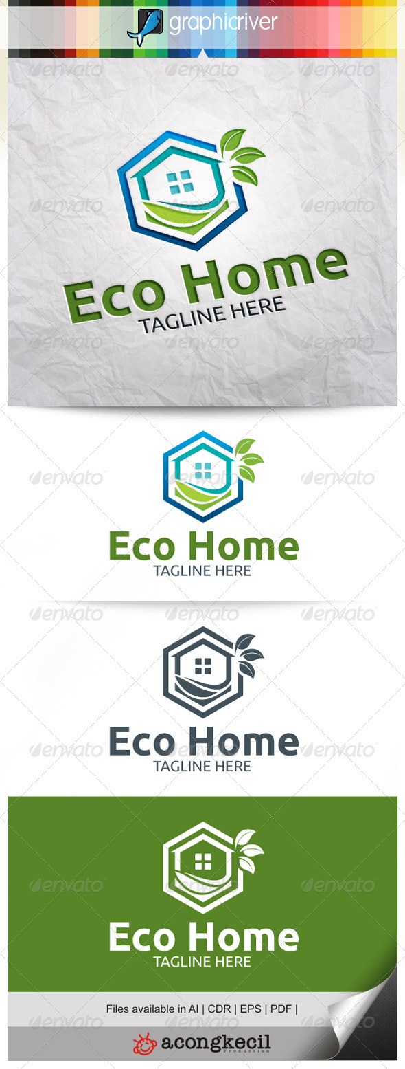 GraphicRiver Eco Home V.2 7954187