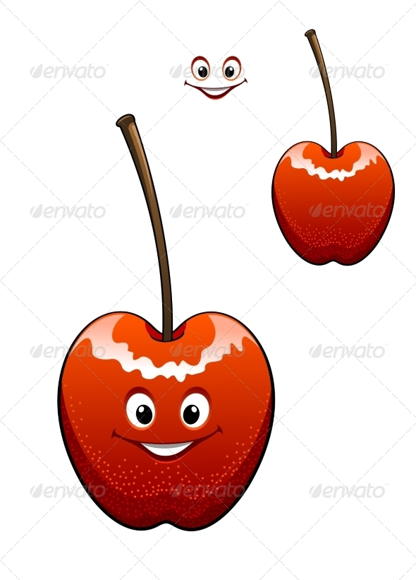 GraphicRiver Happy Ripe Red Cherry 7954233