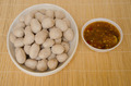 pork ball with spicy juice for healthy food - PhotoDune Item for Sale