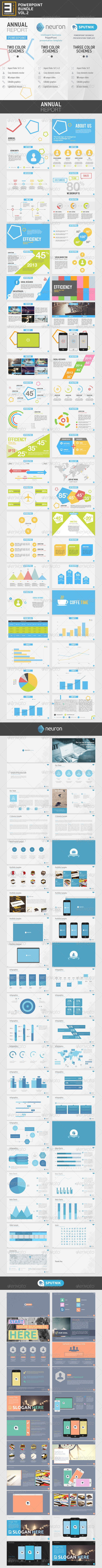GraphicRiver 3-in-1 PowerPoint Bundle vol.2 7954614