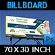 Pharmacy Billboard Template - GraphicRiver Item for Sale