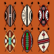 Masai Shield Vector Designs  - GraphicRiver Item for Sale