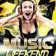 Music Weekend Flyer - GraphicRiver Item for Sale