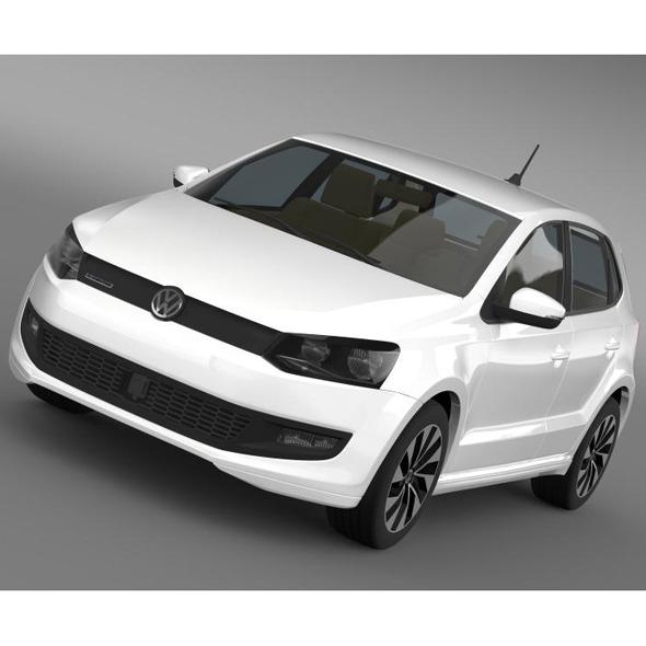 Volkswagen Polo BlueMotion 5d 2014 - 3DOcean Item for Sale