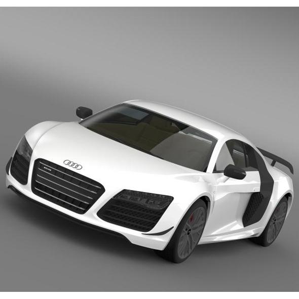 3DOcean Audi R8 LMX 2014 7956120
