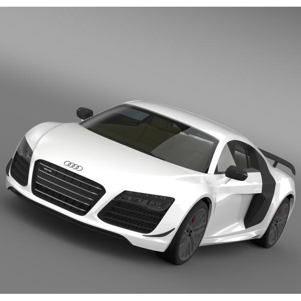 Audi R8 LMX 2014  - 3DOcean Item for Sale