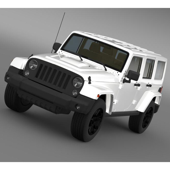 3DOcean Jeep Wrangler Unlimited Rubicon X 2014 7956146