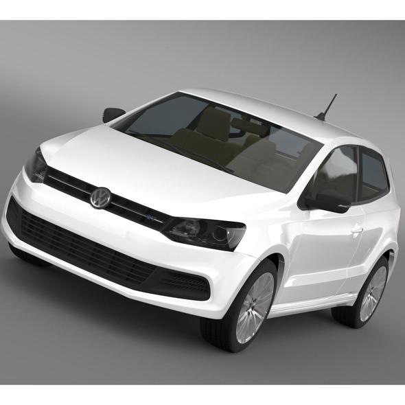 3DOcean Volkswagen Polo BlueGT 3D 2009-2013 7956156