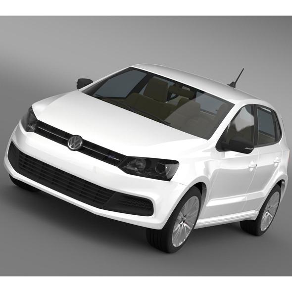 3DOcean Volkswagen Polo BlueGT 5d 2009-2013 7956199