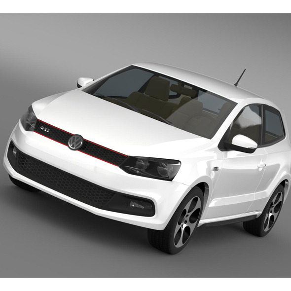 Volkswagen Polo GTI 3d 2009-2013 - 3DOcean Item for Sale