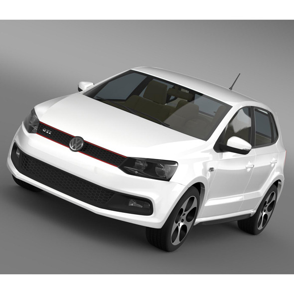 Volkswagen Polo GTI 5d 2009-2013 - 3DOcean Item for Sale