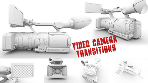 Video Camera Transitions 3 Pack