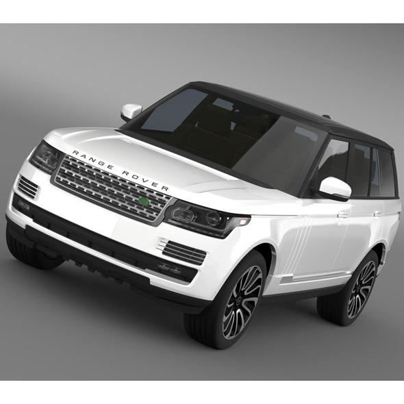 3DOcean Range Rover Autobiography V8 L405 7956525