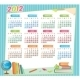 2012 Educational Calendar - GraphicRiver Item for Sale
