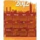 Grunge Urban Calendar 2012 - GraphicRiver Item for Sale