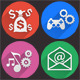SEO Icons - Flat Icons & Internet Marketing Icons - GraphicRiver Item for Sale