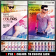 Minimal Colors Flyer Template - GraphicRiver Item for Sale