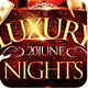 Luxury NightS Party Flyer Template PSD V3 - GraphicRiver Item for Sale