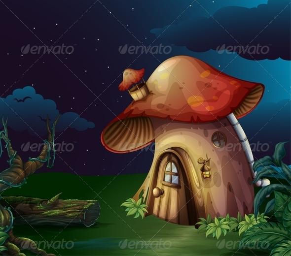 GraphicRiver Mushroom House 7956842