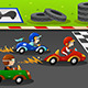 Kids in a Car Racing - GraphicRiver Item for Sale