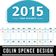 2015 Year Wall Planner - GraphicRiver Item for Sale