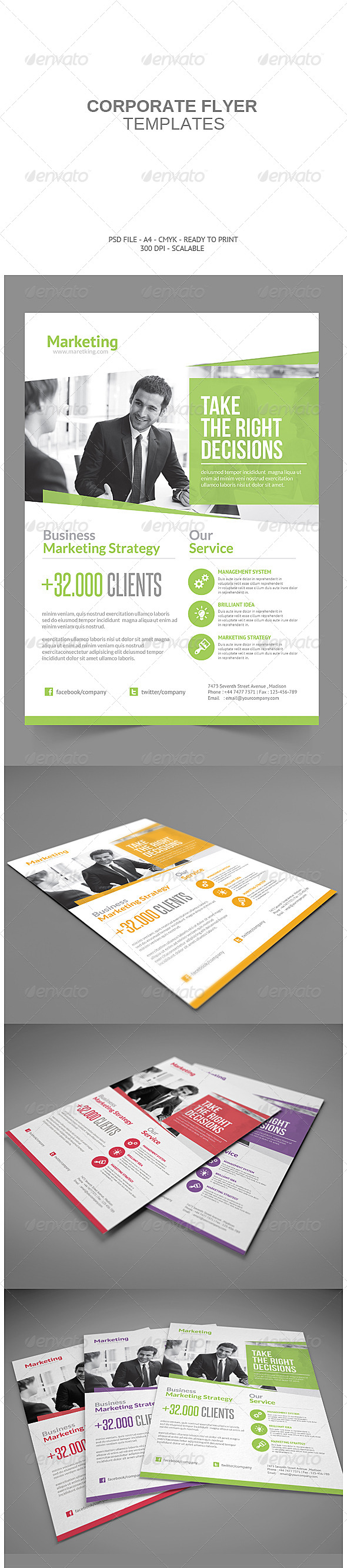 GraphicRiver Corporate Flyer 7957234