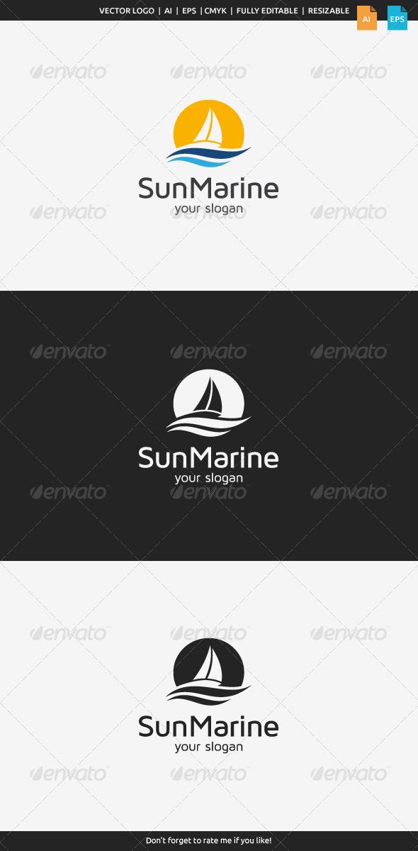 GraphicRiver Sun Travel Logo 7957676